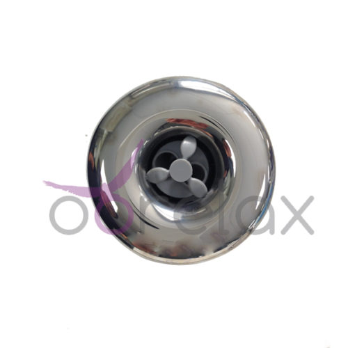 "Jet 3.5"" (86mm) double jets rotatif INOX"